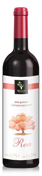 Wino z odmiany niemieckiej Regent w Winnicy Las Stocki koło Kazimierza Dolnego