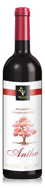 Polskie wino odmainy zweigelt z Winnicy Las Stocki