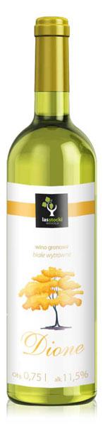 Dione 2016 wino z Winnicy Las Stocki